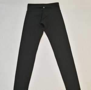 Lululemon Wunder Under full length black size 4